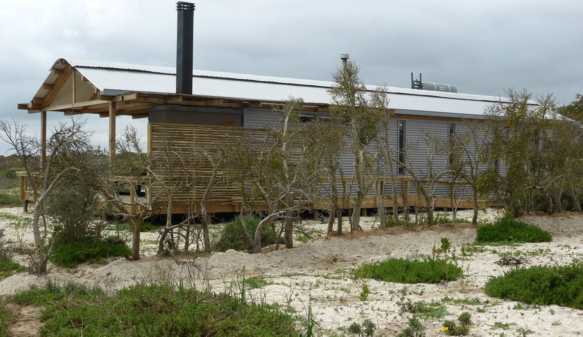 Rocherpan's new eco-cabins good for visitors and nature