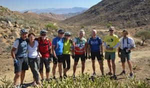 Richtersveld Some friends Mountain Biking. Picture by BradBailey-May2015