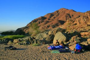 The dramatic Richtersveld landscape makes for beautiful photographs and surprisingly comfortable sleep. Pictures by Fran Siebrits.