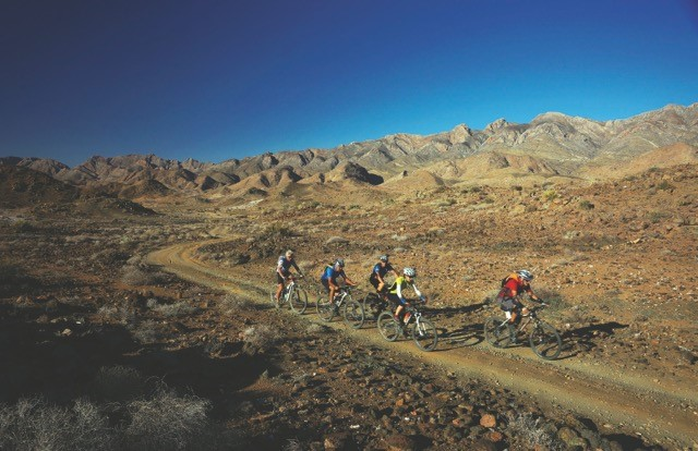 Ten friends, mountain bikes and the Richtersveld