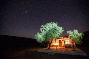 There's absolutely no light pollution, but with so many stars, you won't be able to sleep.