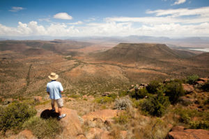 Views that go on forever are characteristic of the Karoo.