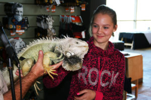 Get close to reptiles and learn how to protect them in the wild.