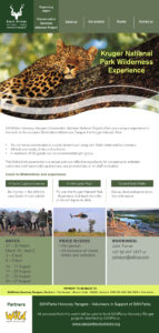 SANParks Honorary Rangers-Kruger Wilderness Experience
