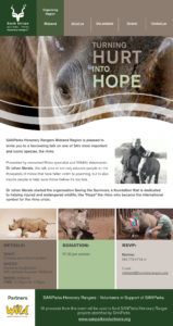 SANParks Honorary Rangers-event-rhino talk