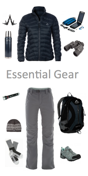 West Coast National Park Packing List