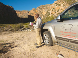 Nkosinathi Moyo loves to introduce visitors to the rugged beauty of Anysberg.