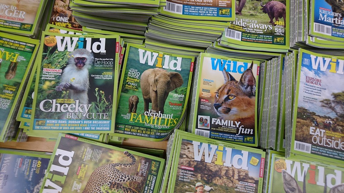 Wild on sale at Woolworths, Spar and Exclusive Books