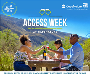 CapeNature Access Week Block Sept 2019